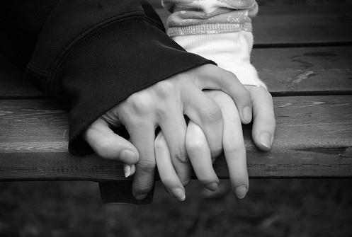 holding-hand