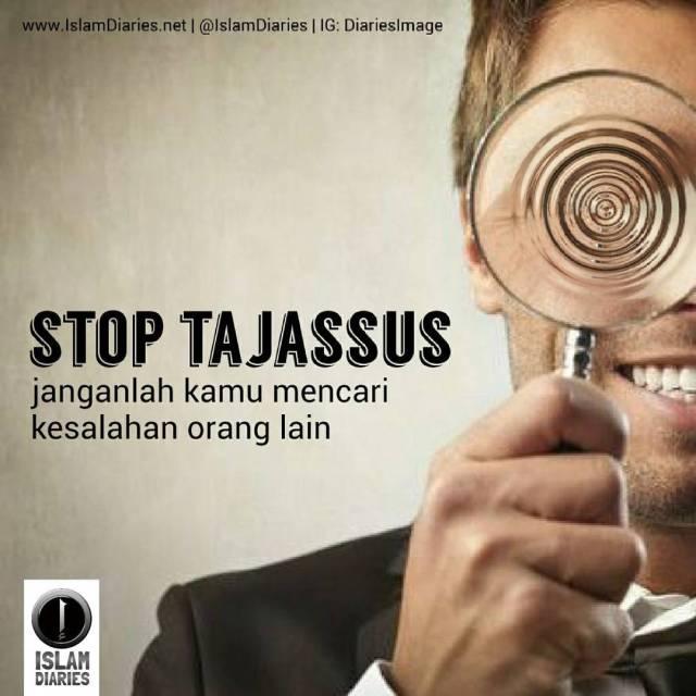stop tajassus